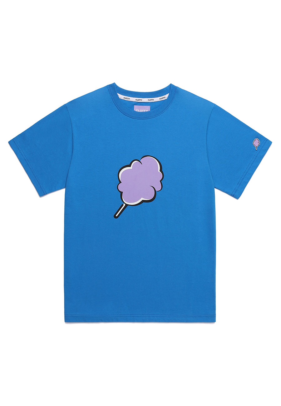 BIG CC T-SHIRT[BLUE]