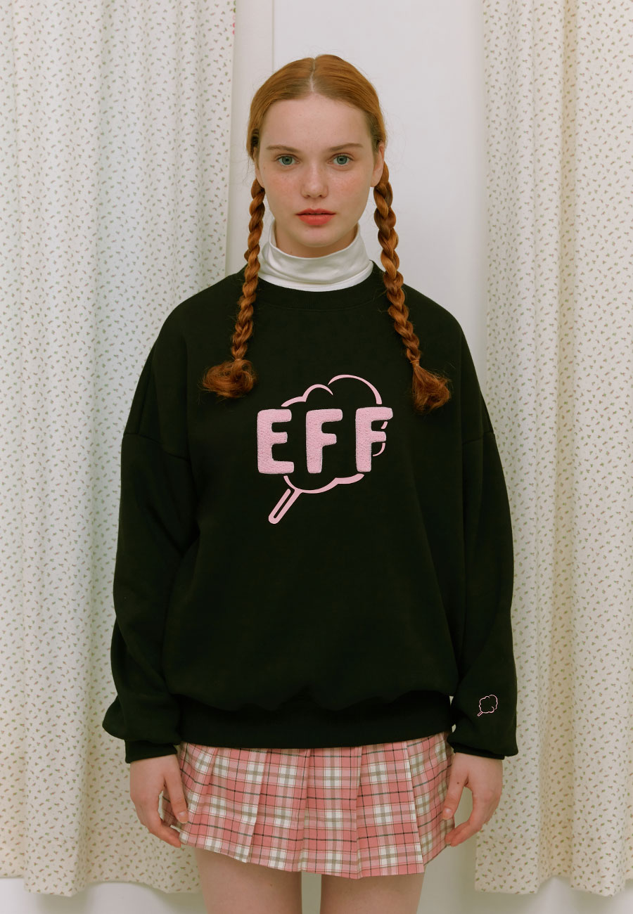 OUTLINE CC EFF SWEAT-SHIRT[BLACK]